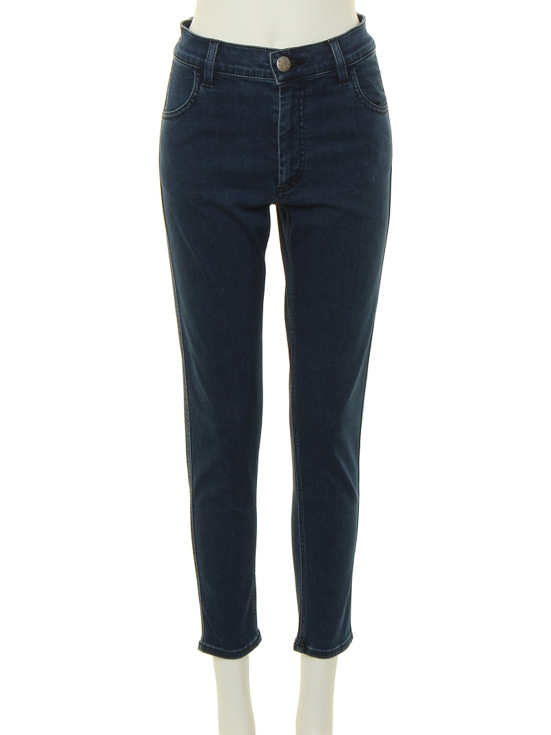 moussy iSKO Re-form High Waist Skinny maujipantsu/牛仔裤