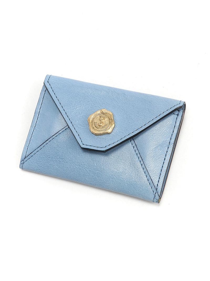 SAN HIDEAKI MIHARA SAN HIDEAKIMIHARA/メール型カードケース アトリエフォルマーレ 財布/小物 パスケース/カードケース イエロー グリーン ネイビー ピンク ブラック ブラウン ホワイト ブルー【送料無料】
