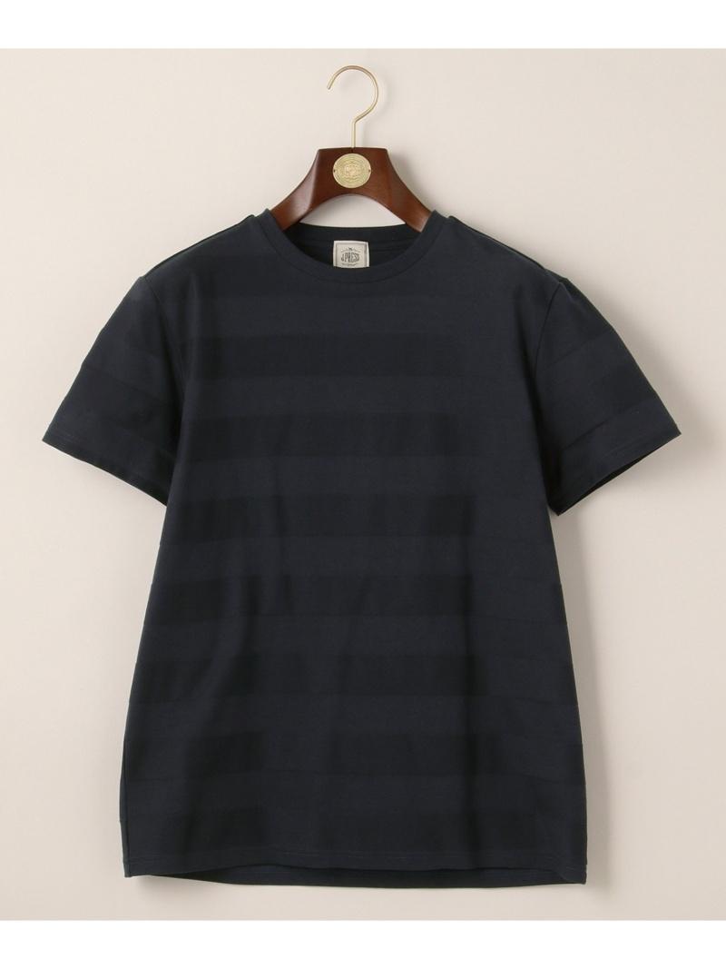 J.PRESS リンクスボーダーTシャツ ジェイプレス カットソー Tシャツ ネイビー ホワイト カーキ【送料無料】