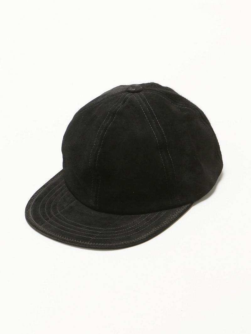 Rohw master product Rohw master product/(M)PIG SUEDE CAP ジェネラルデザインストア 帽子/ヘア小物【送料無料】