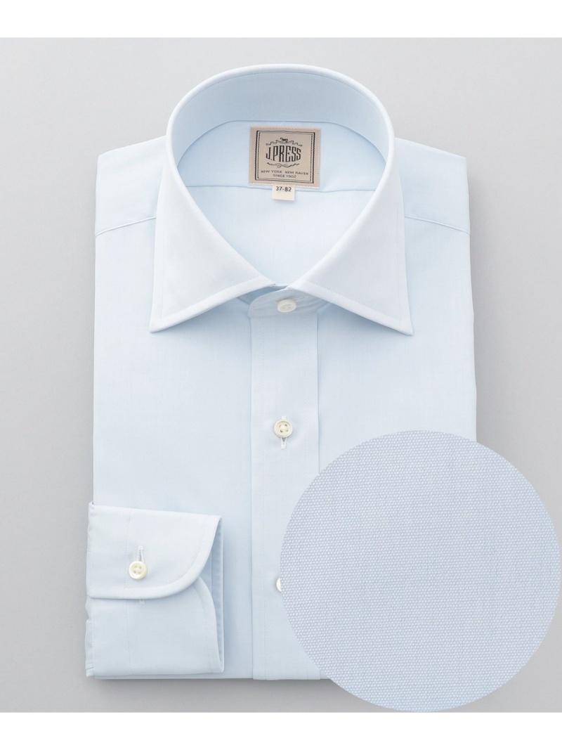J.PRESS MEN シングルニードルGIZA88 ブロードワイドカラー ドレスシャツ ジェイプレス シャツ/ブラウス【送料無料】
