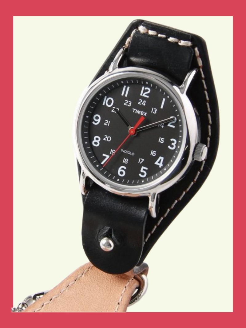 TIMEX 【国内正規品】crampオリジナル懐中時計 ブラック ウィークエンダー タイメックス ファッショングッズ 腕時計 ブラック【送料無料】