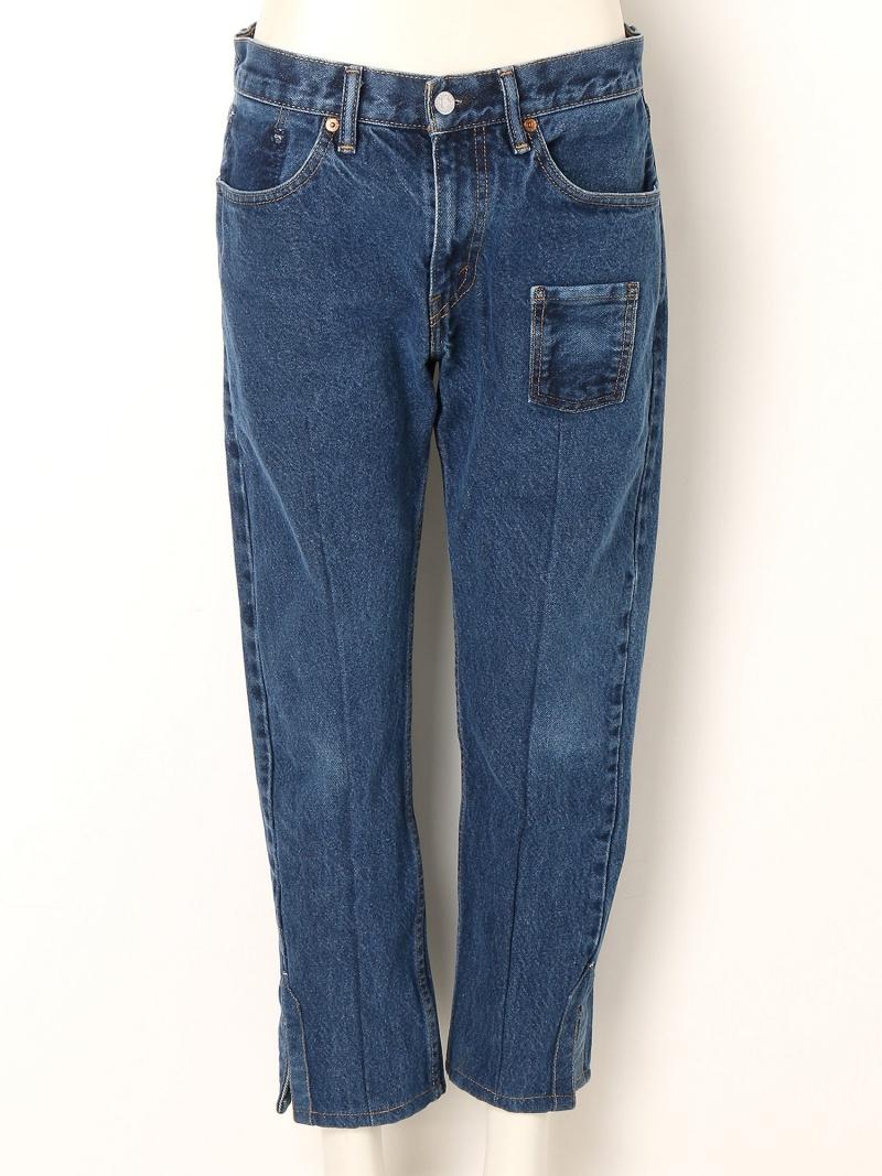 【SALE/45%OFF】TALKING ABOUT THE ABSTRACTION Re-make Denim Pants トーキング アバウト ジ アブストラクション パンツ/ジーンズ【RBA_S】【RBA_E】【送料無料】