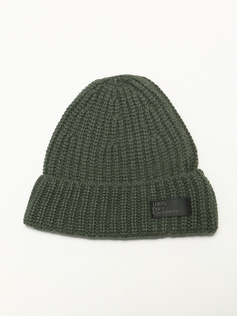 Rohw master product Rohw master product/(M)PURE CASHMERE WATCH CAP ジェネラルデザインストア 帽子/ヘア小物【送料無料】