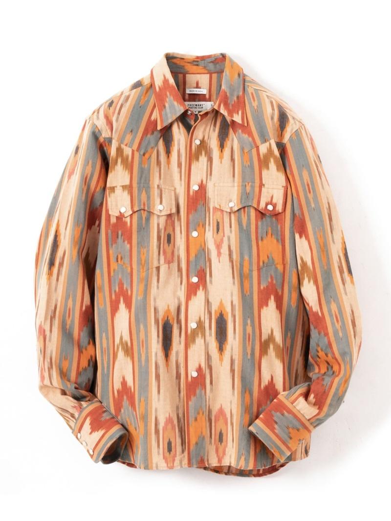 【SALE/50%OFF】URBAN RESEARCH FREEMANS SPORTING CLUB Western Shirts アーバンリサーチ シャツ/ブラウス シャツ/ブラウスその他【RBA_E】【送料無料】