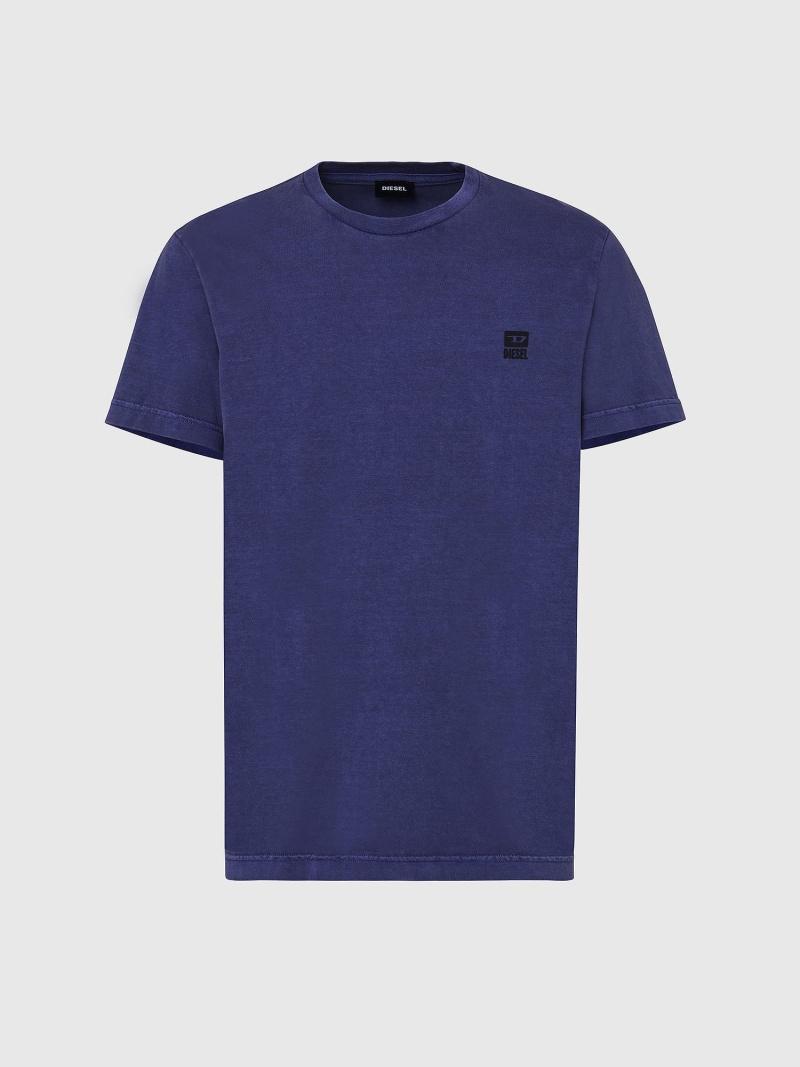 DIESEL T-DIEGOS-K31 ディーゼル カットソー Tシャツ ブルー ホワイト ブラック【送料無料】