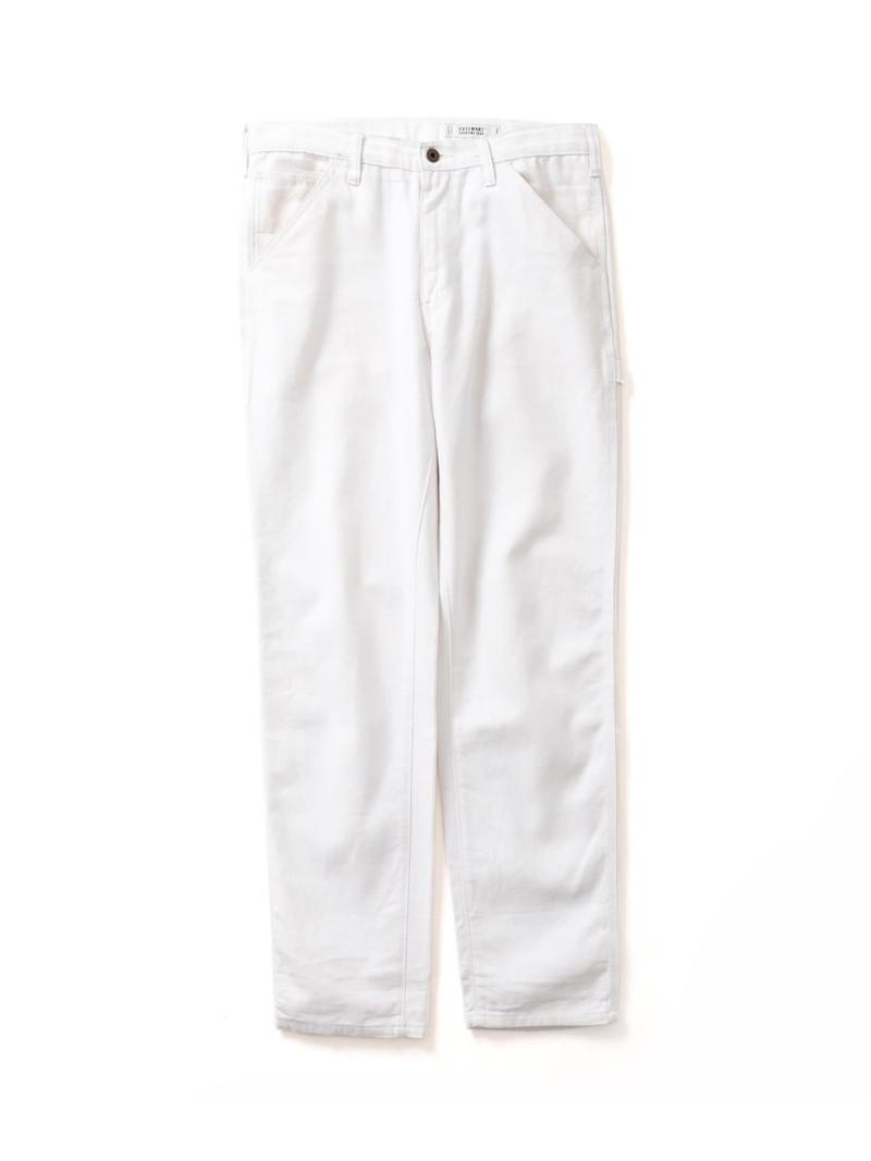 【SALE/50%OFF】URBAN RESEARCH FREEMANS SPORTING CLUB Painter Pants アーバンリサーチ パンツ/ジーンズ パンツその他 ホワイト【RBA_E】【送料無料】