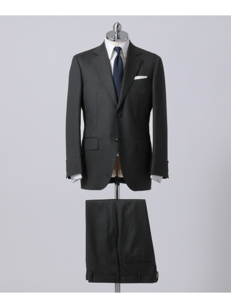 J.PRESS MEN シャドーヘリンボン スーツ ジェイプレス ビジネス/フォーマル【送料無料】