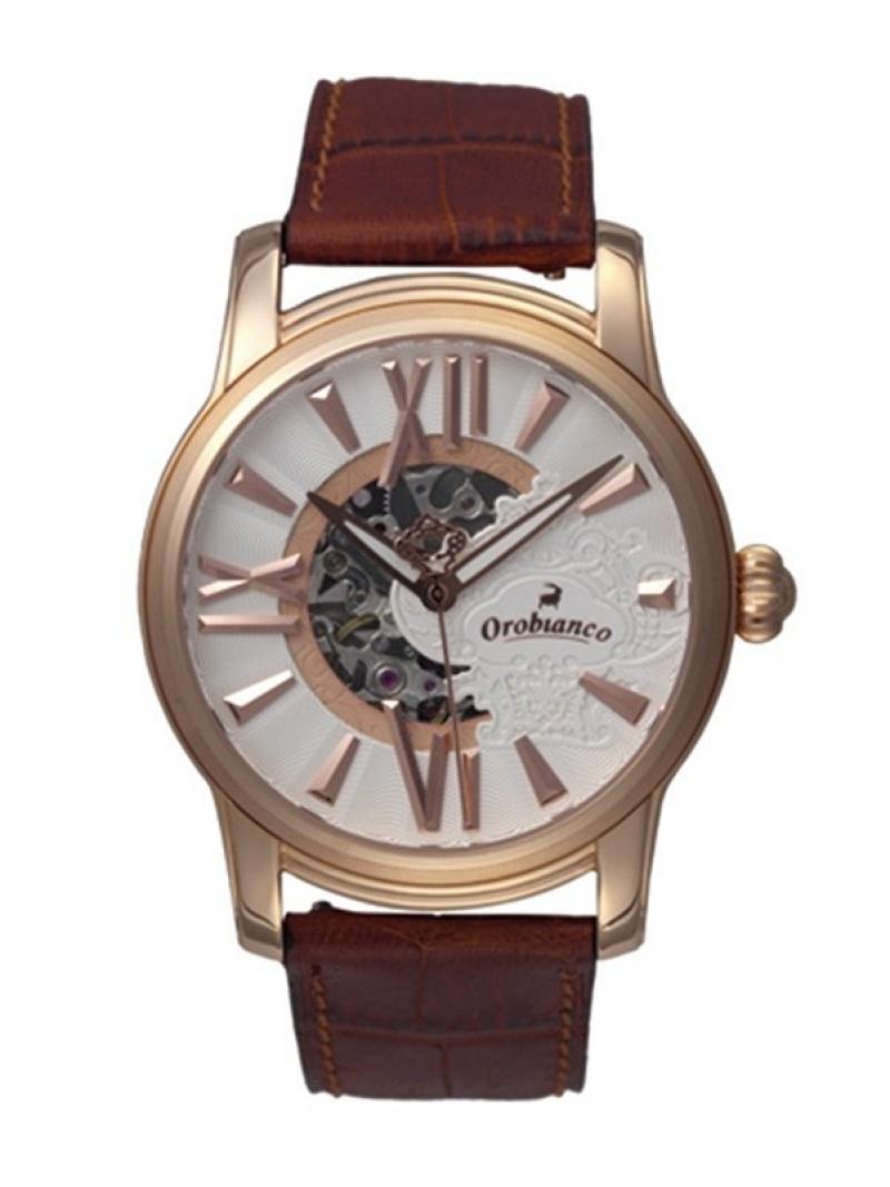 Orobianco Orobianco TIMEORA/(M)ORAKLASSICA オロビアンコ タイムオラ ファッショングッズ 腕時計 ブラウン【送料無料】