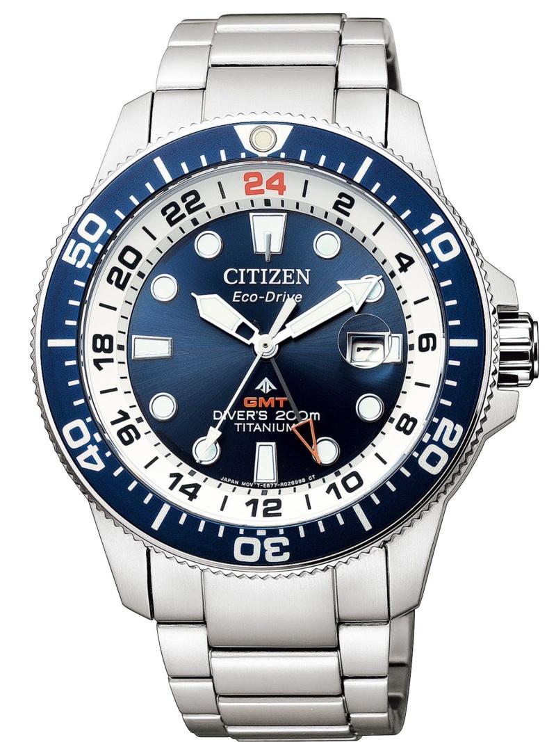 PROMASTER PROMASTER/(M)エコ・ドライブ MARINEシリーズ GMTダイバー BJ7111-86L シチズン ファッショングッズ 腕時計 ブルー【送料無料】