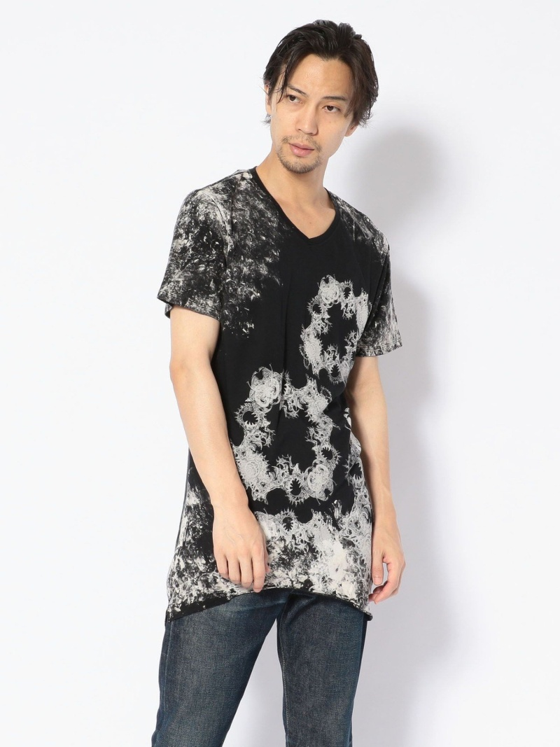 ROYAL FLASH KMRii/ケムリ/DischargedMagno/SSTEE ロイヤルフラッシュ カットソー Tシャツ ブラック【送料無料】