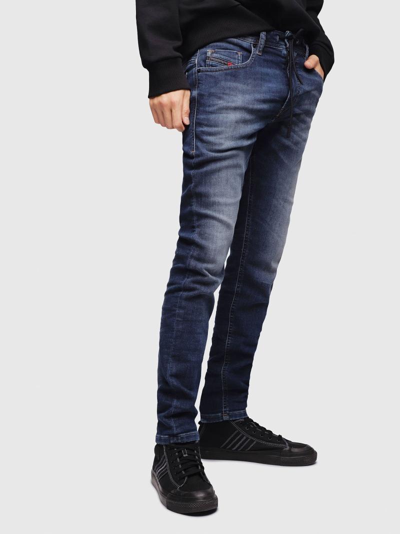 DIESEL ThommerJoggJeans088AX ディーゼル パンツ/ジーンズ フルレングス ブルー【送料無料】