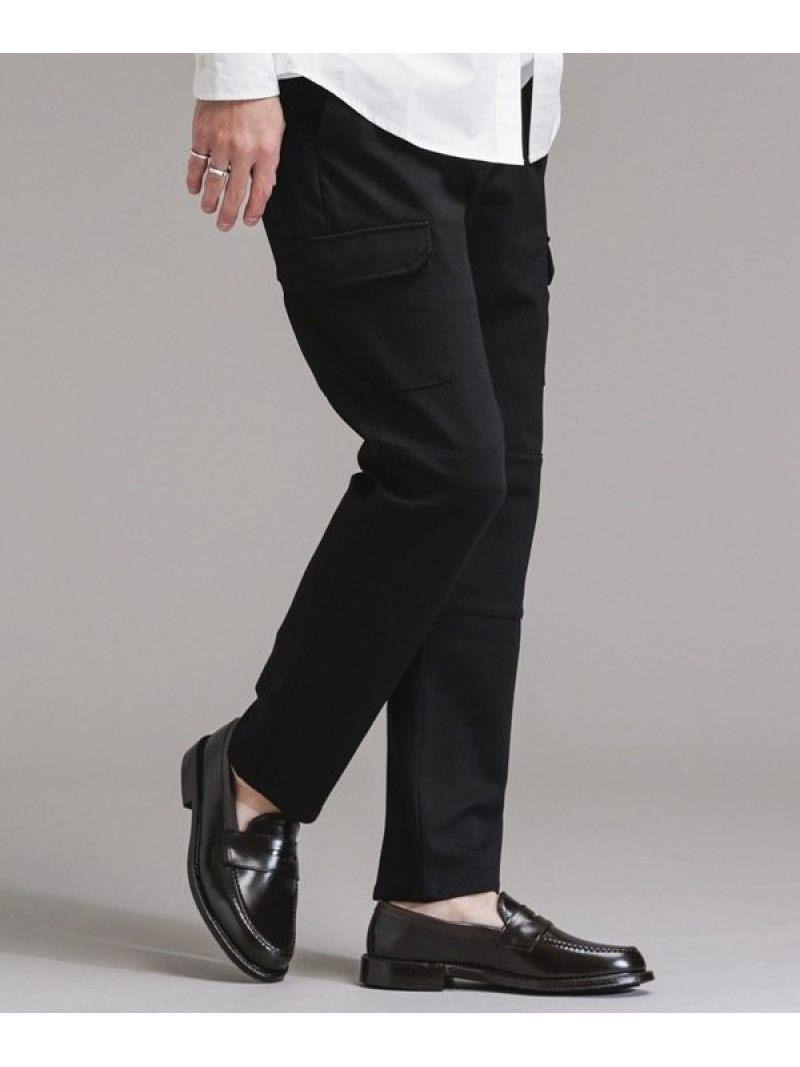 nano・universe N trousers [ヨセフ] カーゴスラックス ナノユニバース パンツ/ジーンズ フルレングス ブラック カーキ【送料無料】