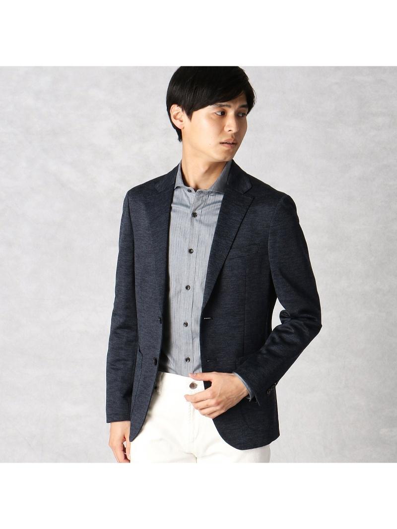 COMME CA MEN プライムフレックス ジャージジャケット コムサメン ビジネス/フォーマル【送料無料】