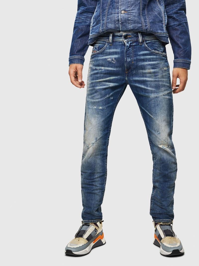 DIESEL ThommerJoggJeans0870Q ディーゼル パンツ/ジーンズ フルレングス ブルー【送料無料】