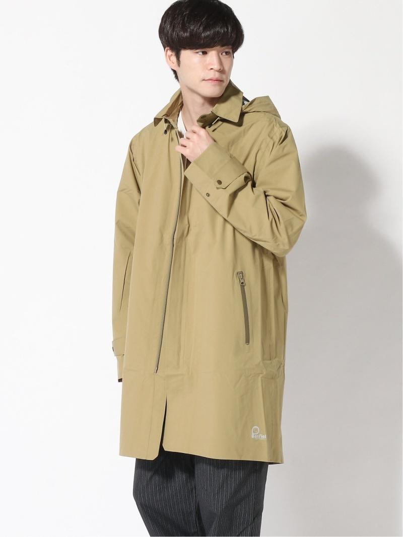 Penfield Sportswear, Inc. (M)SHOWER BALMACAAN ペンフィールドスポーツウェアインク コート/ジャケット レインコート カーキ ブラック【送料無料】