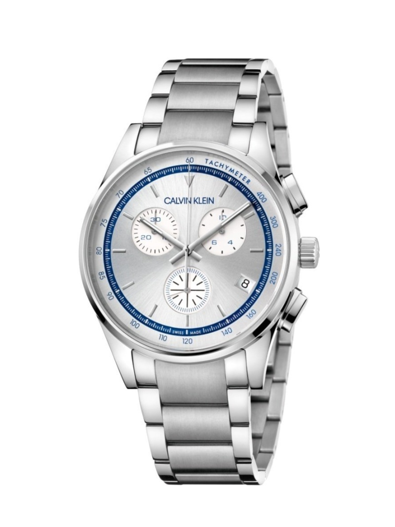 CALVIN KLEIN WATCHES+JEWELRY 腕時計 Completion(コンプリーション) クロノグラフ シルバー カルバンクラインウォッチアンドジュエリー ファッショングッズ 腕時計 シルバー【送料無料】