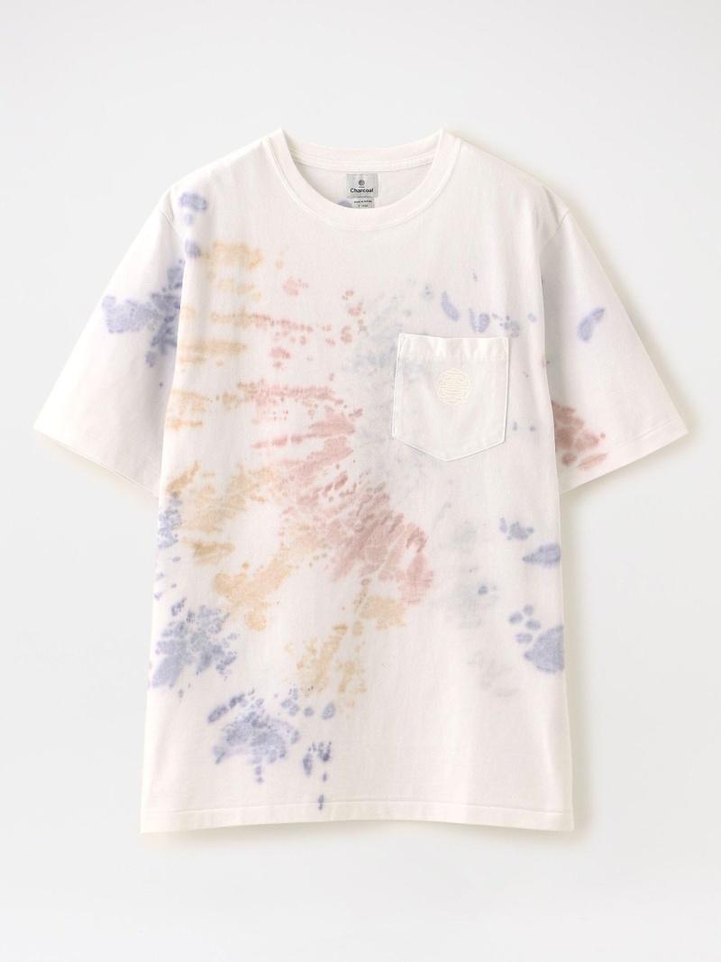【SALE/30%OFF】LOVELESS 【Charcoal】MEN Tシャツ OC 29/USA Octa Tye-Dye S/S 20-01-1-006 ラブレス カットソー Tシャツ ホワイト グレー ブラック【RBA_E】【送料無料】