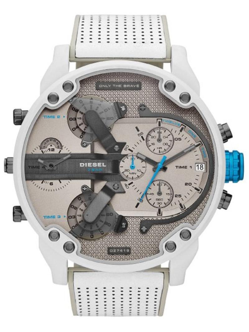 DIESEL (M)MR DADDY 2.0_DZ7419 ウォッチステーションインターナショナル ファッショングッズ 腕時計 グレー【送料無料】