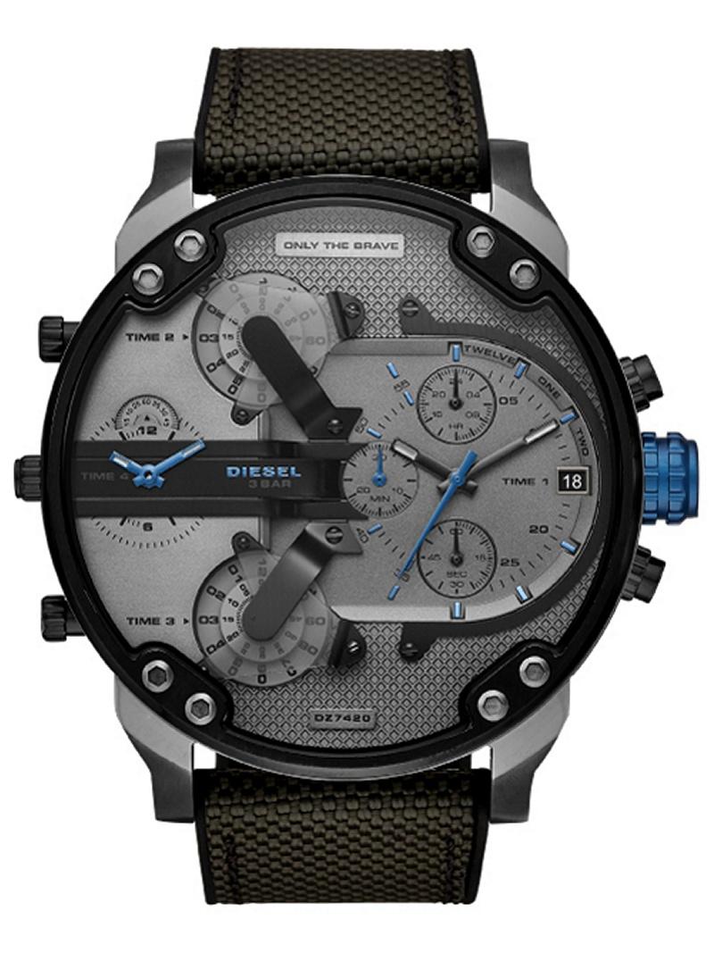 DIESEL (M)MR DADDY 2.0_DZ7420 ウォッチステーションインターナショナル ファッショングッズ 腕時計 グレー【送料無料】