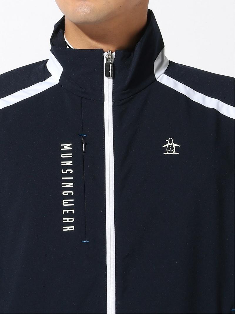 MunsingwearM ブルゾン コート WB マンシングウェア コート ジャケット コート ジャケットその他 ブルー グレー ネイビー 送料無料T1cFlKJ3