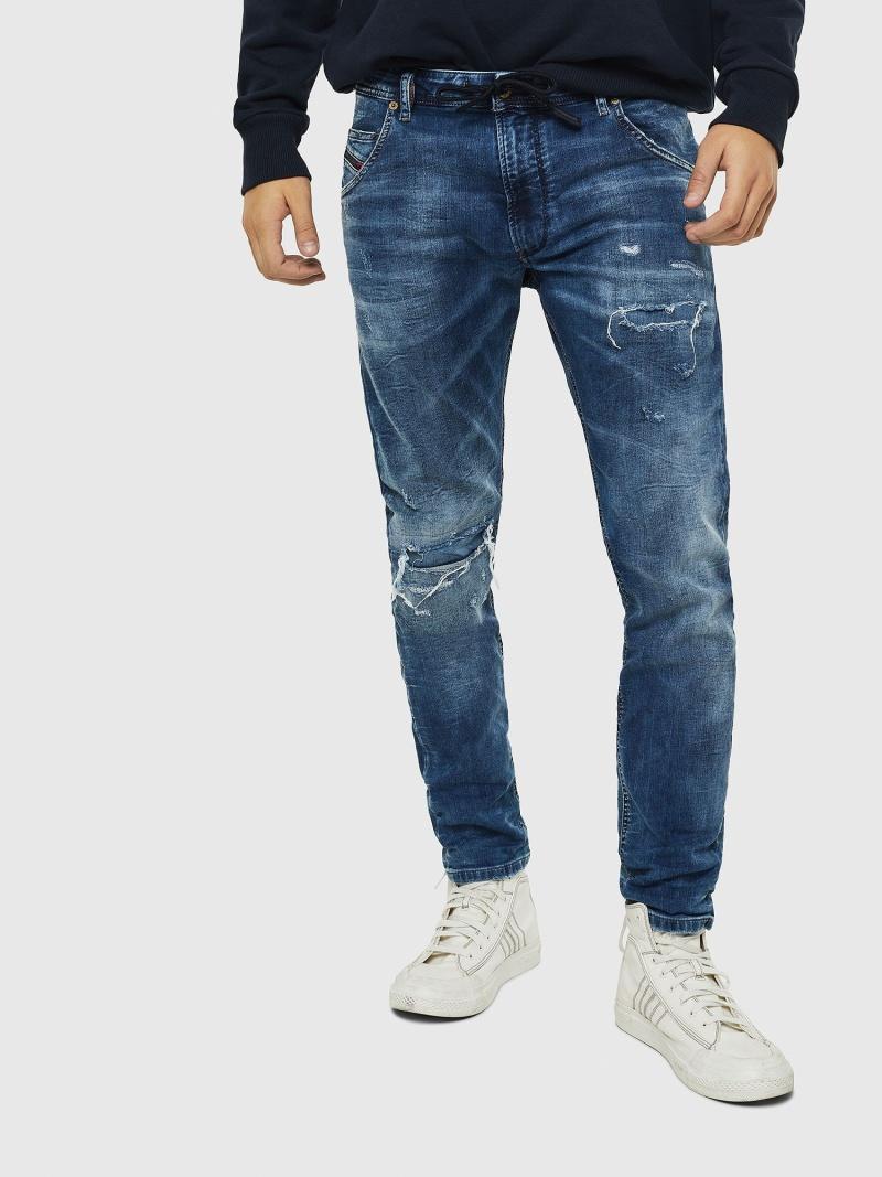 DIESEL KrooleyJoggJeans0685I ディーゼル パンツ/ジーンズ フルレングス ブルー【送料無料】