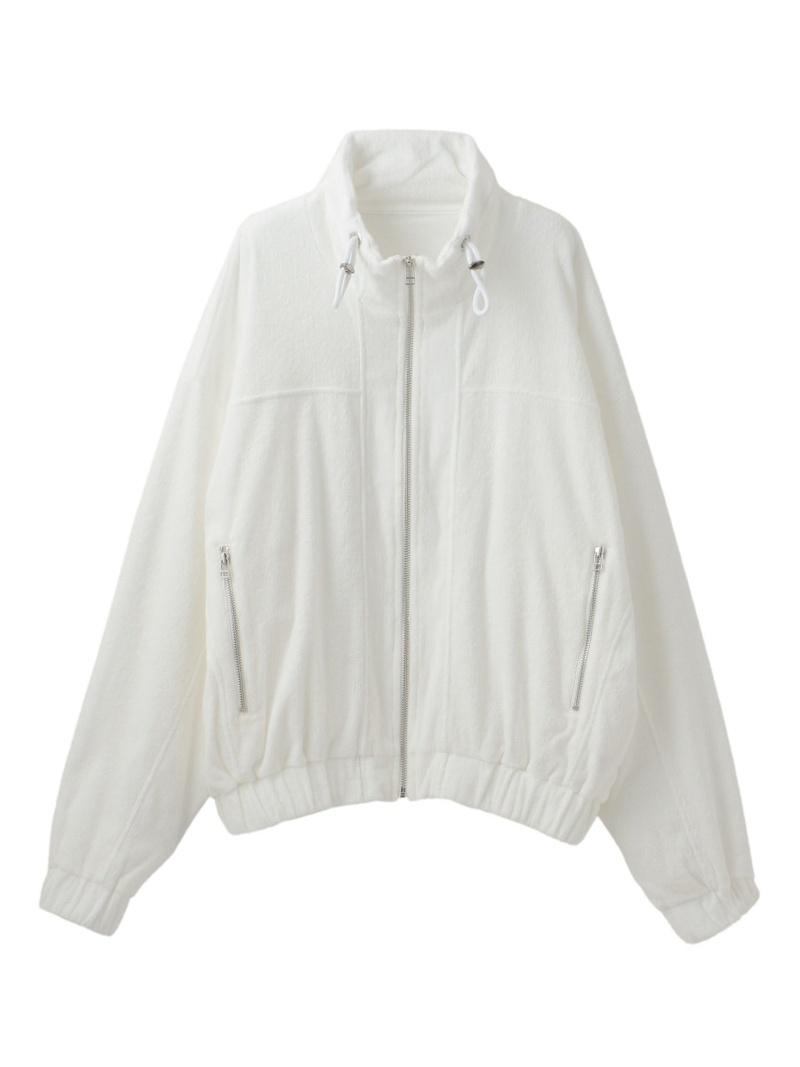 【SALE/50%OFF】LOVELESS 【LeRELN】MENパイルジップアップブルゾン ラブレス カットソー Tシャツ ホワイト【RBA_E】【送料無料】