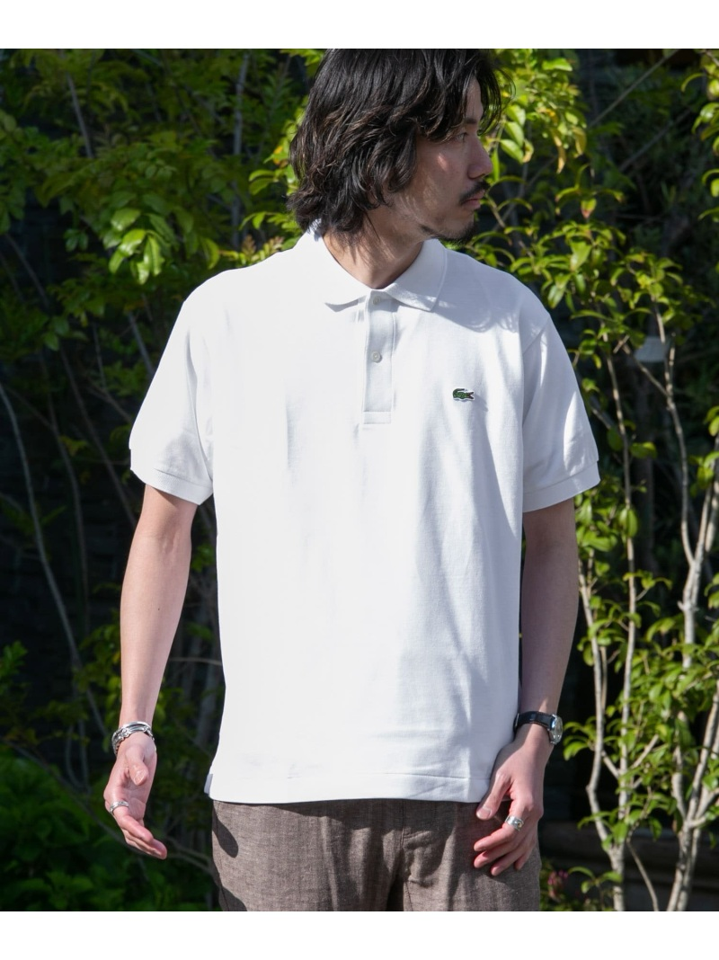 Sonny Label LACOSTE ポロシャツ サニーレーベル カットソー【送料無料】