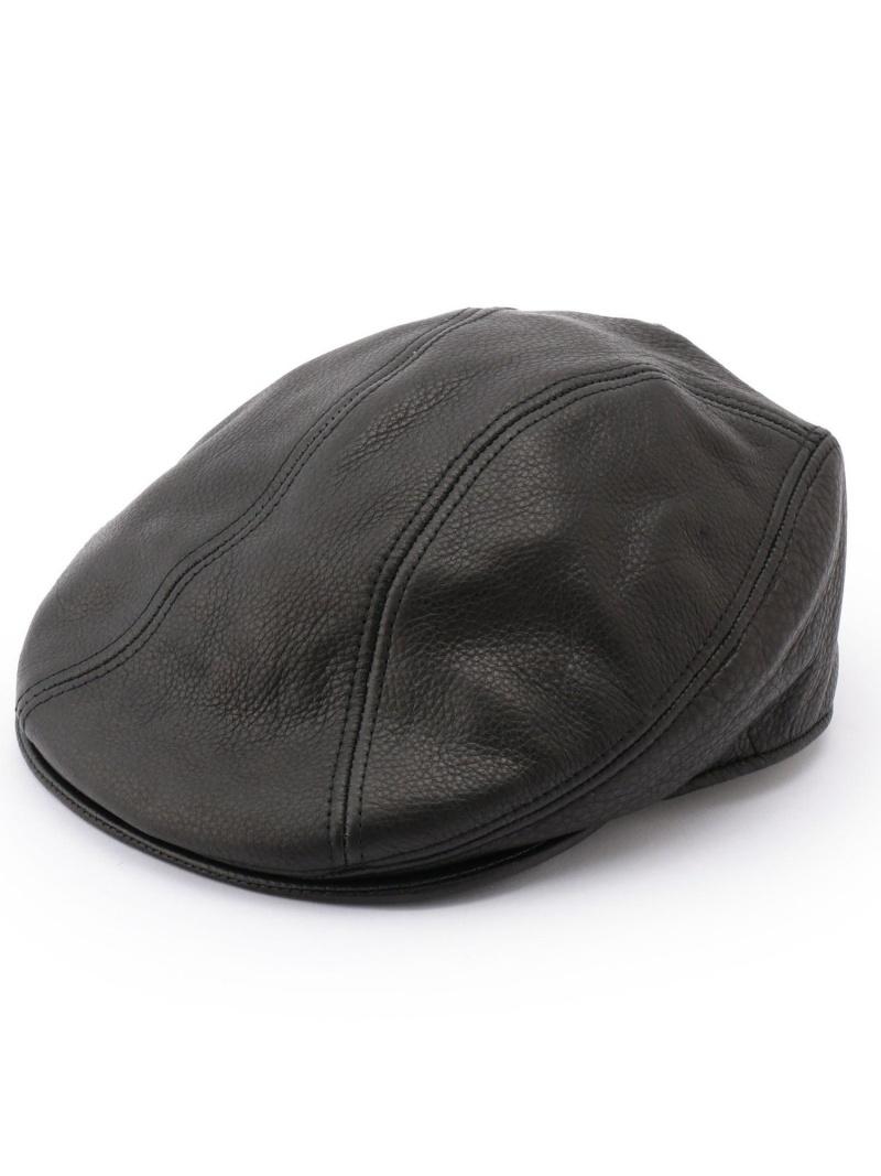 schott SCHOTT/ショット/LAMBA1900HUNTINGHAT/ハンチングハット ショット 帽子/ヘア小物 帽子その他 ブラック【送料無料】