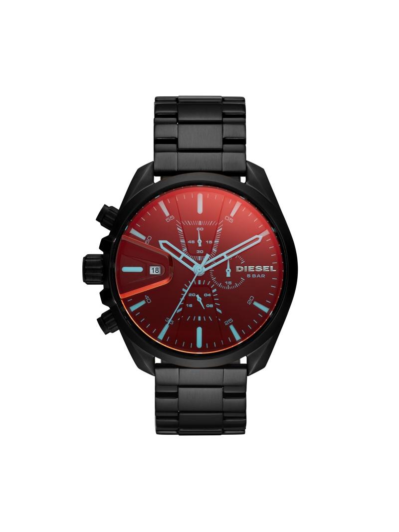 DIESEL DIESEL/(M)MS9 CHRONO DZ4489 ウォッチステーションインターナショナル ファッショングッズ 腕時計 ブラック【送料無料】