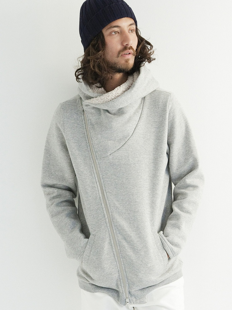 rehacer Cover Boa Zip Parka レアセル カットソー【送料無料】