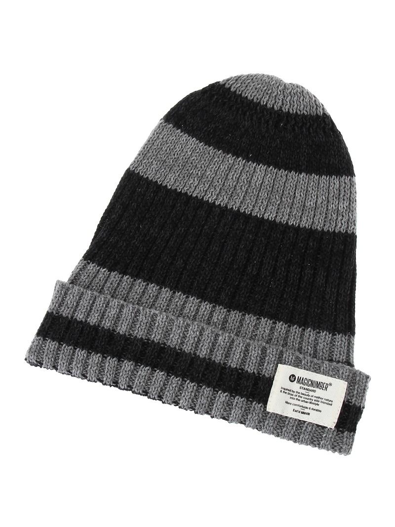 MAGIC NUMBER边缘编织物便帽神奇的数字帽子/毛小东西