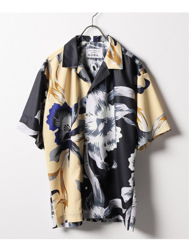 【SALE/30%OFF】NOMA t.d. NOMA t.d./textile design by NOMA t.d. 50s sh 1 ジャーナル スタンダード レリューム シャツ/ブラウス 半袖シャツ ブラック【RBA_E】【送料無料】