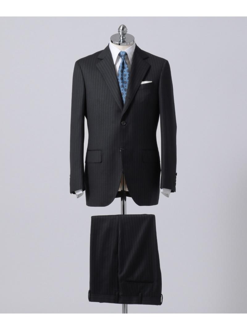 J.PRESS MEN ヨークシャーノーブルベールダブルストライプ スーツ ジェイプレス ビジネス/フォーマル【送料無料】