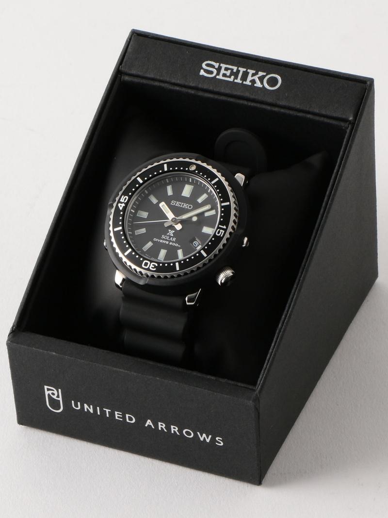 UNITED ARROWS 【別注】<SEIKO(セイコー)> UA PROSPEX ダイバースキューバ† ユナイテッドアローズ ファッショングッズ【送料無料】