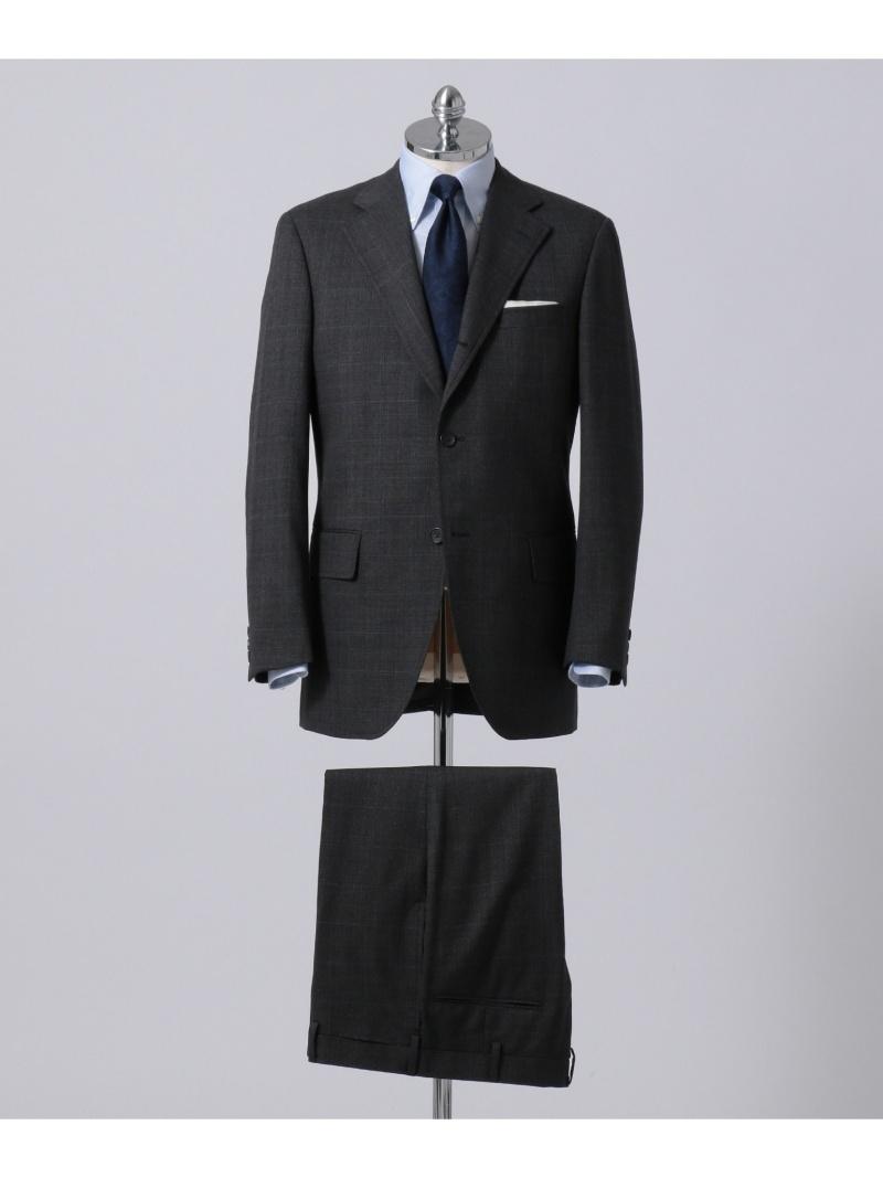 J.PRESS MEN ダブルウィンドペーン スーツ ジェイプレス ビジネス/フォーマル【送料無料】