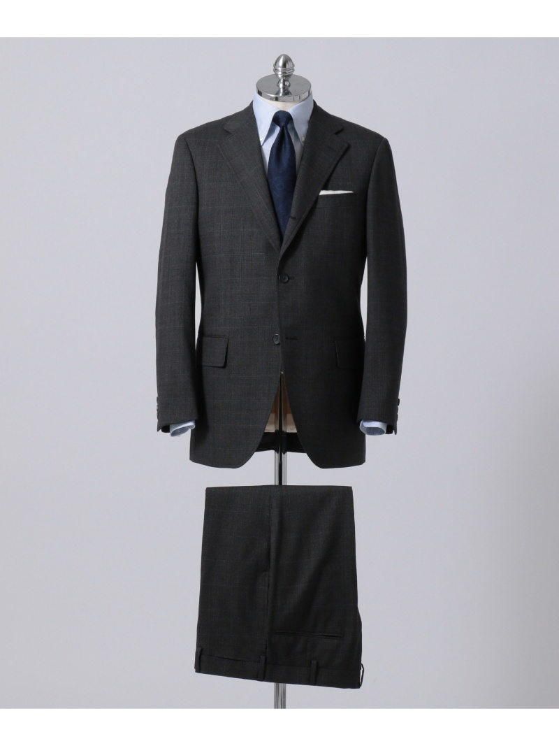 【SALE/20%OFF】J.PRESS MEN ダブルウィンドペーン スーツ ジェイプレス ビジネス/フォーマル【RBA_S】【RBA_E】【送料無料】