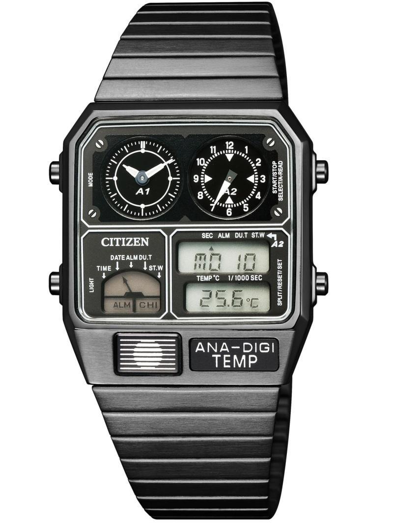 CITIZEN CITIZEN/(M)アナデジテンプ 特定店取扱モデル JG2105-93E シチズン ファッショングッズ 腕時計 ブラック【送料無料】