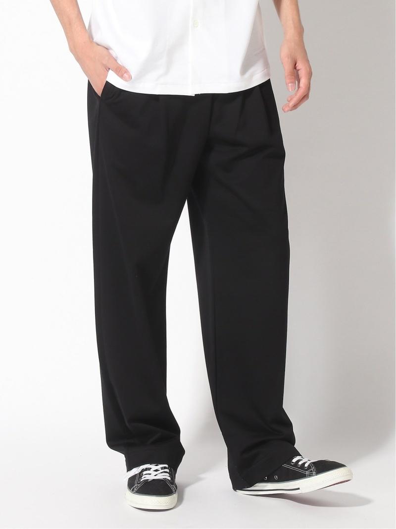 MACKINTOSH (M)SHIRRED WAIST PANTS マッキントッシュ パンツ/ジーンズ フルレングス ブラック ネイビー【送料無料】