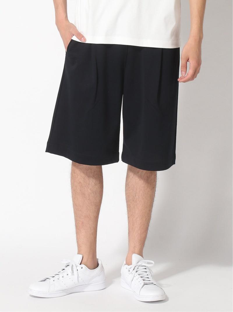 MACKINTOSH (M)SHIRRED WAIST SHORT PANTS マッキントッシュ パンツ/ジーンズ ハーフパンツ ネイビー【送料無料】