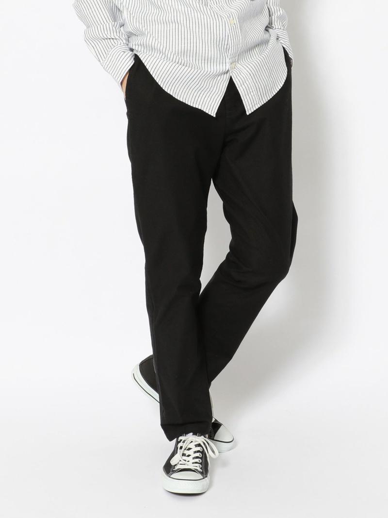 【SALE/10%OFF】UNCUT BOUND Johnbull(ジョンブル)ロイヤルオックスリラックスパンツ アンカットバウンド パンツ/ジーンズ フルレングス ブラック オレンジ ベージュ【RBA_E】【送料無料】