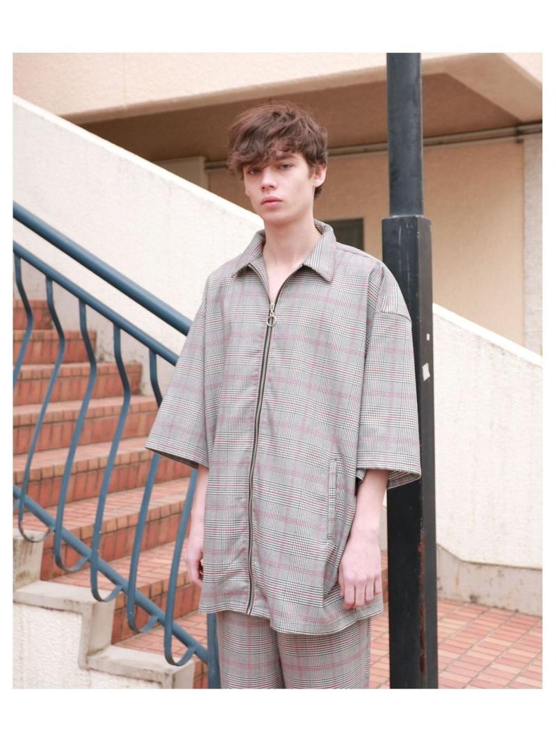 LHP clut/クルト/オーバーサイズシルエット リングジップシャツ エルエイチピー シャツ/ブラウス 長袖シャツ【送料無料】