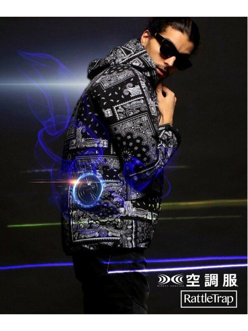 RATTLE TRAP 空調服(TM)×RATTLETRAPブルゾン メンズ ビギ コート/ジャケット ブルゾン ブラック【送料無料】