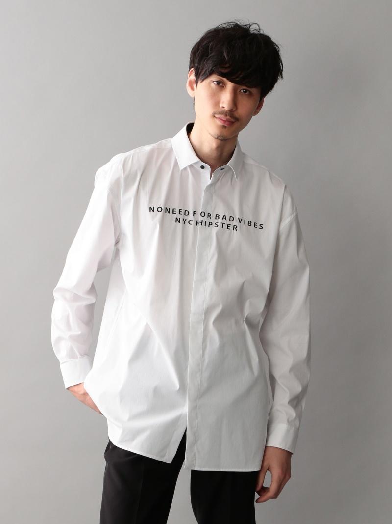 GUILD PRIME MENS エンブロイロゴオーバーシャツ ギルドプライム シャツ/ブラウス【RBA_S】【送料無料】