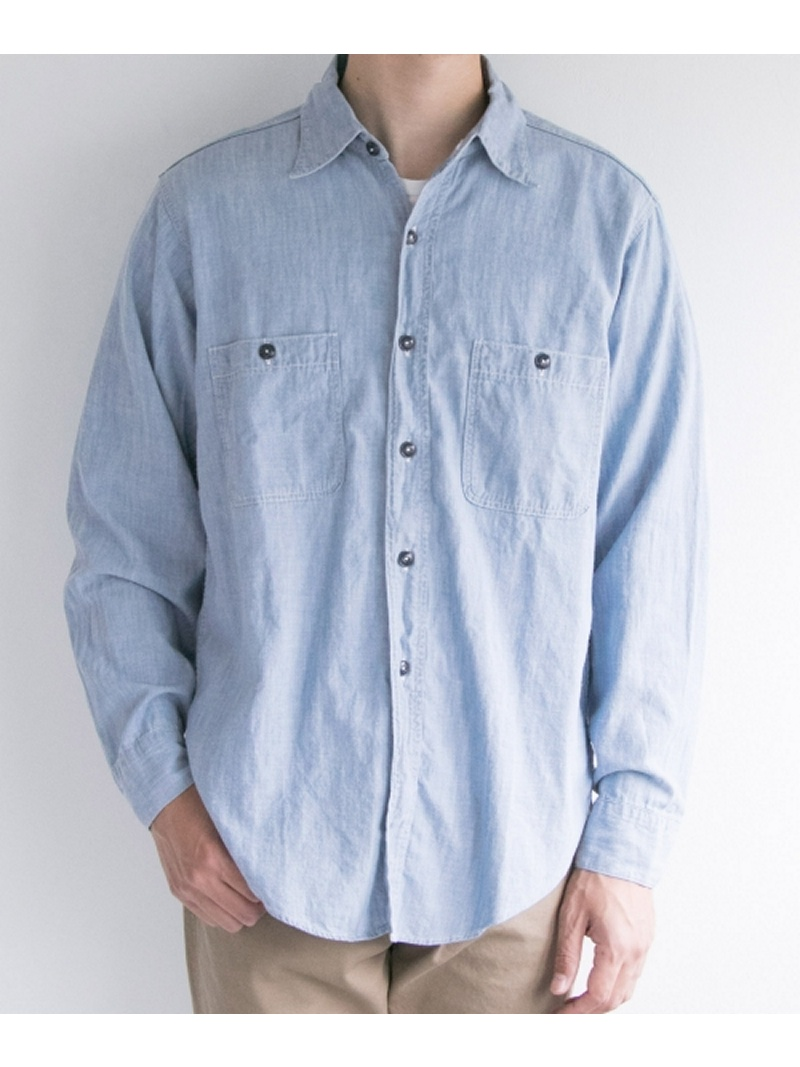 URBAN RESEARCH FREEMANS SPORTING CLUB JP USN WORK SHIRTS アーバンリサーチ シャツ/ブラウス【送料無料】