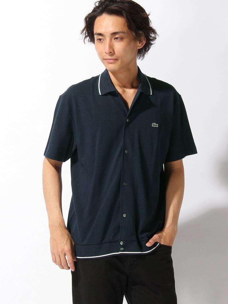 LACOSTE 『85周年記念限定-WEB限定』 ユニセックス フロントボタンポロシャツ (半袖) ラコステ カットソー【送料無料】