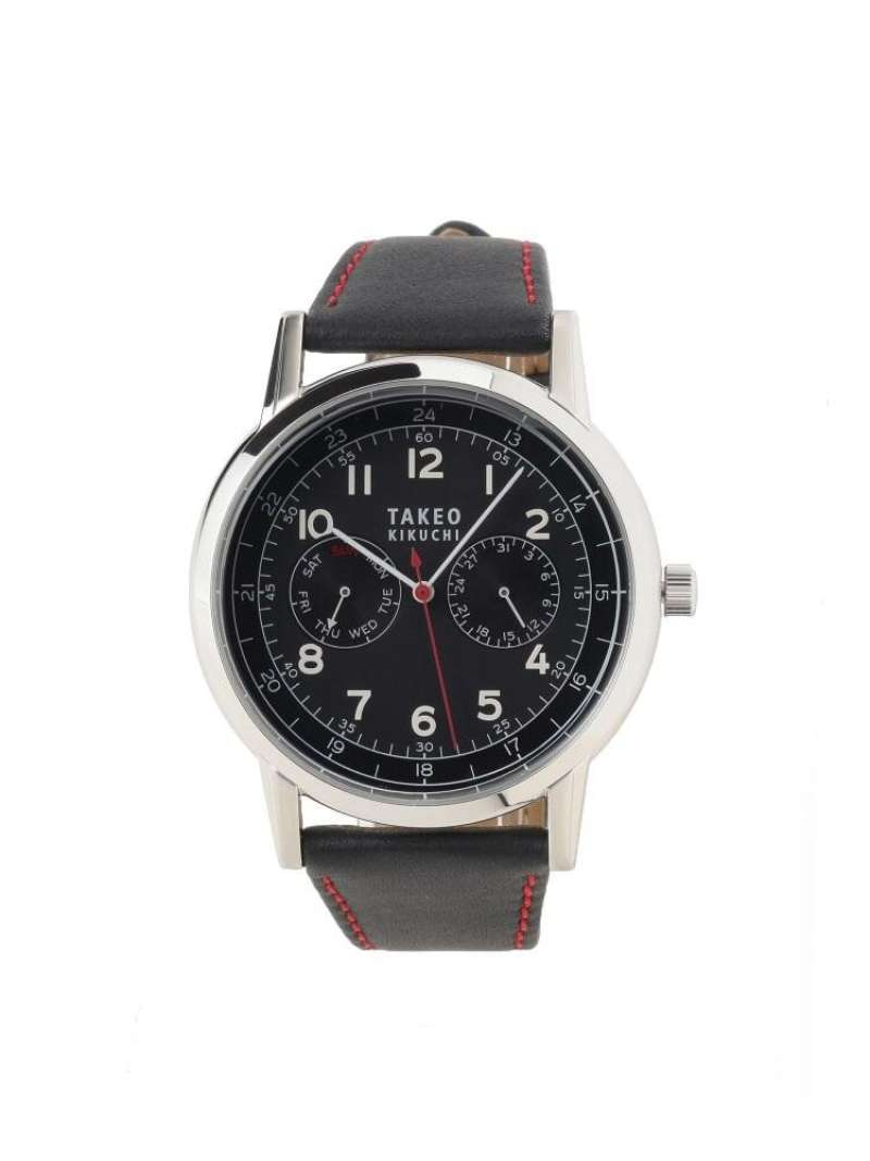 【SALE/20%OFF】TAKEO KIKUCHI 2カウンタークロノソーラー時計[メンズ時計ソーラー] タケオキクチ ファッショングッズ 腕時計 ブラック ブラウン ネイビー【RBA_E】【送料無料】