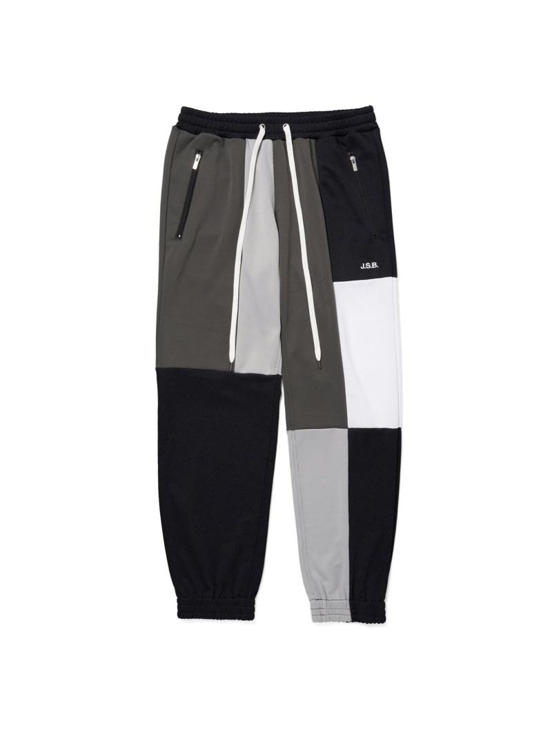 J.S.B. J.S.B./(M)Multi Color Track Pants バーチカルガレージ パンツ/ジーンズ フルレングス ブラック グレー【送料無料】