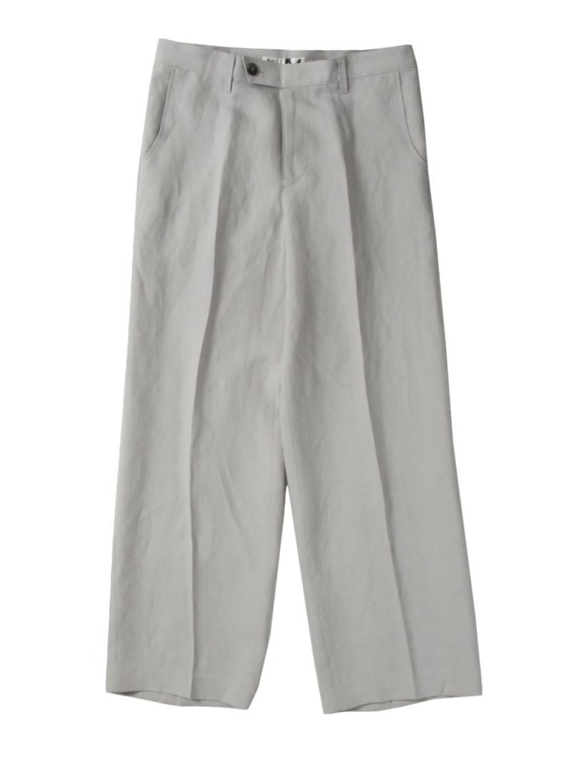 KoH T Wide Center Press Trousers シーナウトウキョウ パンツ/ジーンズ フルレングス グレー【先行予約】*【送料無料】