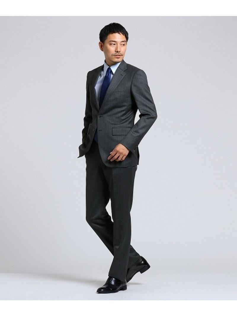 TAKEO KIKUCHI 【PNJ】紡縞 2Bシングルスーツ[ メンズ スーツ ] タケオキクチ コート/ジャケット【送料無料】